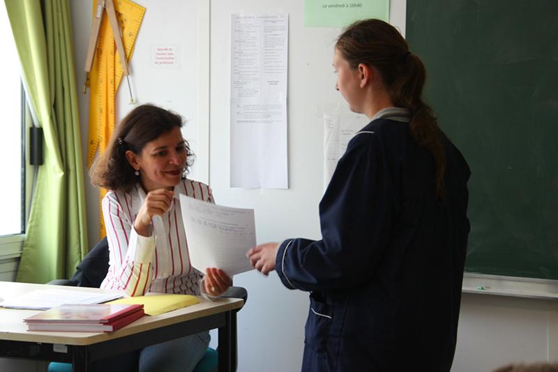 Collège saint Maur : rendu de copie